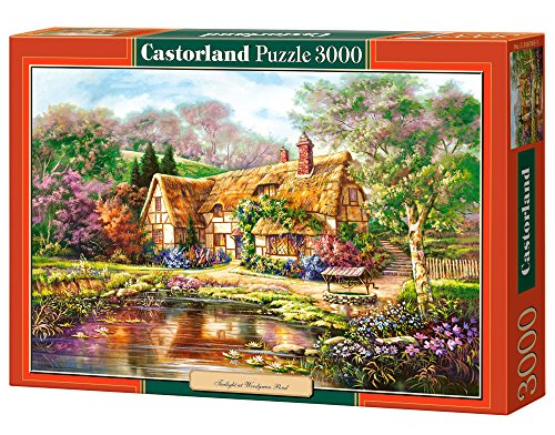 castorland-c-300365-2-puzzle-twilight-at-woodgreen-pond-3000-pieces