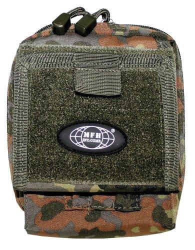 MFH Kartentasche 'MOLLE' 30604 Unisex Tasche Schwarz flecktarn