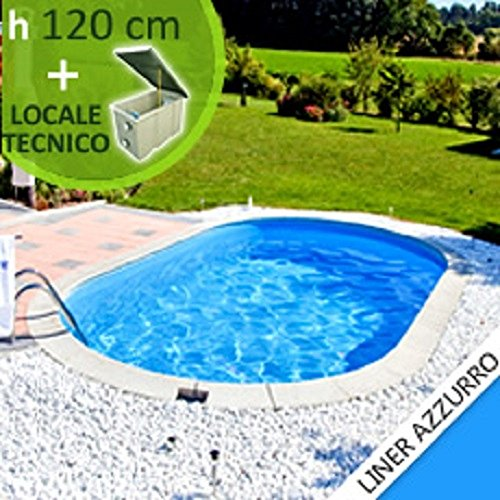 inground steel pool skyblue comfort 800 h 1 20 with. Black Bedroom Furniture Sets. Home Design Ideas