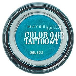 Maybelline Eye Studio Color Tatto 20 Turquoise Forever - eye shadows (Blue, Turquoise Forever, Shimmer, Italy)