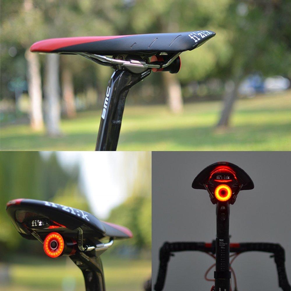 Ljourney Bicicletta Sedile Asta di Montaggio del Supporto Esclusiva per XLITE100/fanale Posteriore Bicicletta da Usare