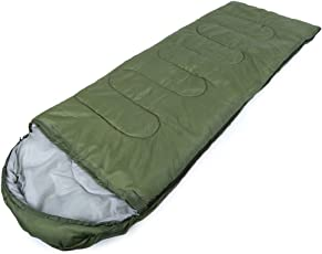 YFXOHAR Sleeping Bag Envelop 3 Season Ultra Light Portable Waterproof Comfort for Camping, Backpack & Outdoor