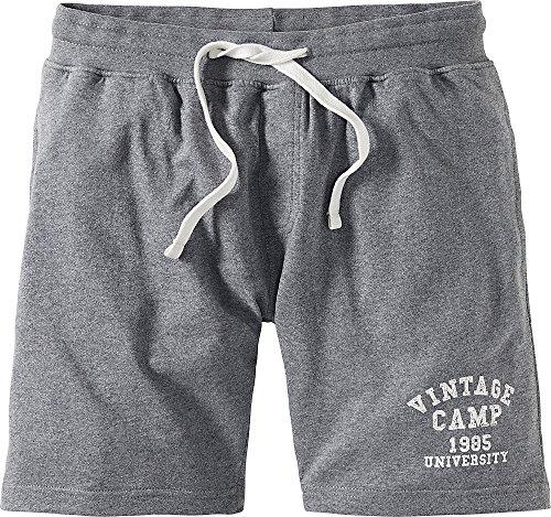 Tom Ramsey Herren Sweatshorts/Kurze Hose für Männer, Sporthose, Freizeithose mit bequemen Gummibund und Taschen (Größen: M - 4XL, Farbe: Grau)