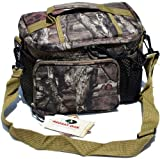 Mossy Oak Licensed 12 Can Insulated Lunch Bag Cooler Leak Proof & Weather Proof with Convenient Easy Access Top by Explorer