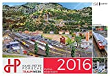 Mythos Modellbahn 2016: Die Anlage im Hans-Peter Porsche TraumWerk. Kalender 2016