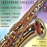 Saxophone vocalise | Rousseau, Eugene (1932-....). Bf