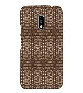 PrintVisa Designer Back Case Cover for Motorola Moto G4 :: Moto G (4th Gen) (Geommetric Design)