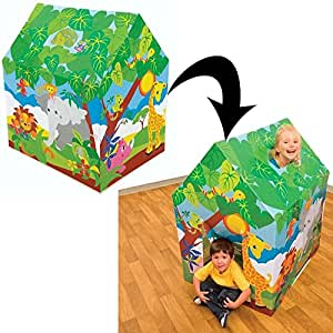 Intex Kids House Tent, Playhouse - Fun Cottage for Indoor or Outdoor Activity