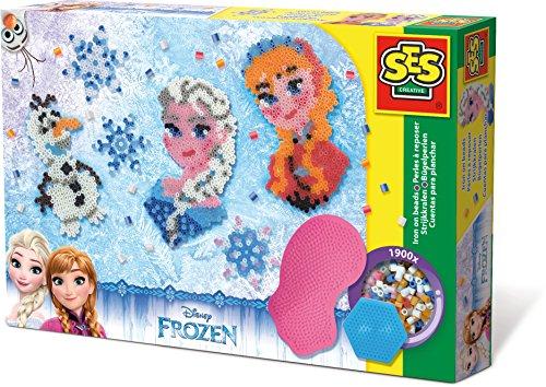 SES Creative - 14736 - Perles à repasser Frozen - Taille XL