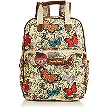 SwankySwans Atlantis Butterfly Map Essex Ipad Case - bolso mochila de sintético mujer