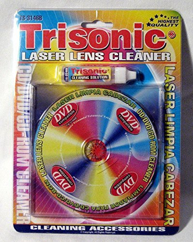 DVD-CD Cleaners Laser Lens Cleaner New Game Player Xbox Cd-rom DVD Ps2 Cleaning Liquid Included
