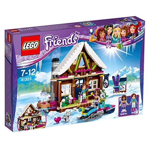 LEGO UK 41323 Snow Resort Chalet Construction Toy