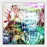 Bild auf Leinwand - 'QUADRATISCHER BOLLENHUT' - Kunstdruck mit Keilrahmen. Aufhängefertig. XXL-Rahmen. Verschiedene Größen - 60x60 cm, 80x80 cm, 100x100 cm, 120x120 cm, 140x140 cm