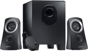 Logitech Z313 2 1 Speaker System With Subwoofer 50 Computers Accessories