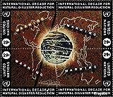 UNO - New York 671-674 Viererblock (kompl.Ausg.) 1994 Naturkatastrophen-Prophylaxe (Briefmarken für Sammler)