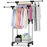 Clothes Stand Metal, Coat Rack Hanger Silver
