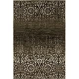 """Sona-Lux diseño de Alfombras tejidas carameloo """"Seleccionar el tamaño"""" 190 x 280 cm"""