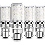 HZSANUE Ampoule Maïs LED B22 12W, LED Baïonnette Ampoules, Blanc Chaud 3000K, 1200LM, Équivalent Ampoule Incandescence 100W,
