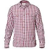Fjällräven Herren Abisko Cool Shirt LS Kurzarmhemd, Red, XL