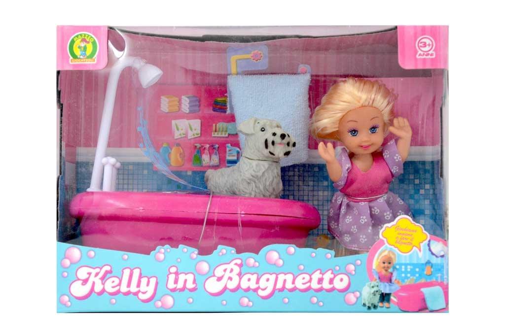 bambola kelly in bagnetto - mazzeo giocattoli