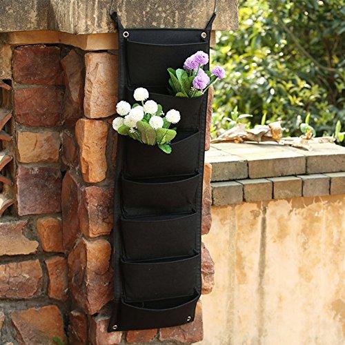 Preisvergleich Produktbild Cold Toy 7 Pocket Hanging Fence Garden Vertikale Blume Vege Herbs Wall Planter 100 x 29 cm