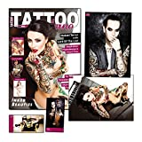 Tattoo Inferno Limited Edition mit großem Lord Of The Lost Special + XXL-Poster + signierte Postkarten von Chris Harms und Cover-Model Makani Terror - nur 499 Exemplare