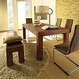 HAMBURG Esszimmertisch 240-300x100 cm Auszugtisch Tisch Esstisch Holztisch Akazie Massiv
