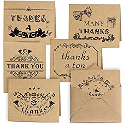 36 tarjetas de agradecimiento para boda