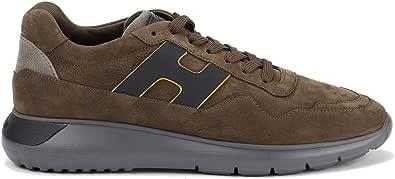 Hogan Sneakers Interactive³ Marroni HXM3710AM24OCN429A Marrone Uomo