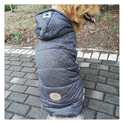 0995bec06ec1 happy&live Big Dog Coat Jacket Large Dog Clothes Winter Samoyed Golden  Retriever Siberian Husky Labrador Big