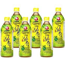 Oishi - Grüner Tee Getränk Honig Zitrone - 6er Pack (6 x 500ml) - Drink aus Thailand