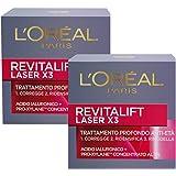 L'Oréal Paris Crema Viso Giorno Revitalift Laser X3, Azione AntiRughe Anti-Età con Acido Ialuronico e Pro-Xylane, 50 ml, Conf