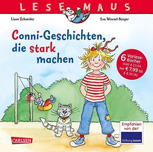 Mädchen Burger (Conni-Geschichten, die stark machen: Sechs Vorlesegeschichten in einem Band (LESEMAUS Sonderbände))