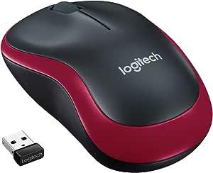 Logitech M185 Kabellose Maus 2 4 Ghz Verbindung Via Computer Zubehör