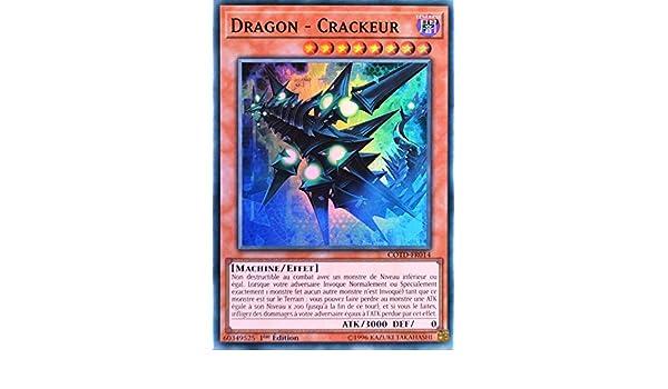 CRACKEUR COTD-FR014 Carte Yu Gi Oh DRAGON Yu-Gi-Oh!