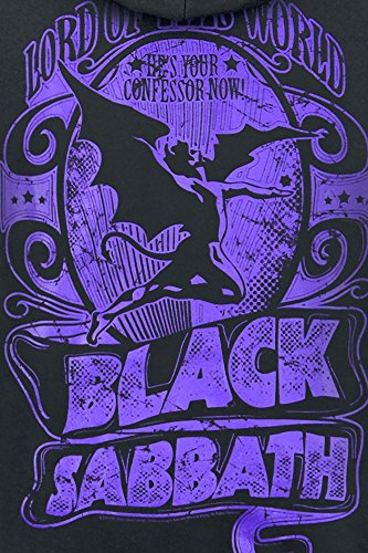 Black Sabbath Lord Of This World Kapuzenpulli schwarz Schwarz