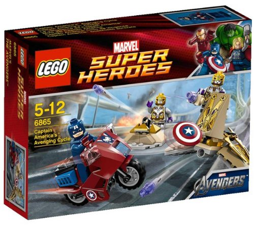 Preisvergleich Produktbild LEGO Super Heroes - Captain Americas Rache - 6865