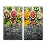 Zeller 26319 Herdabdeck-/Schneideplatten, Spices