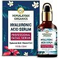 Himalayan Organics Hyaluronic Acid Serum for face Capture Youth with Retinol, Vitamin C & E - 30ml - Under Eye Dark Circles,