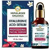Himalayan Organics Hyaluronic Acid Serum for face Capture Youth with Retinol, Vitamin C & E - 30ml - Under Eye Dark…