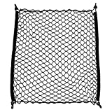 Elastic Car Storage Net Rear Cargo Trunk Organizer Hook Cargo Net fit Most SUV and sedan car