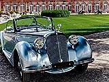 Horch 930 V Roadster, 1938. 3823 ccm, 92 PS, 130 kmh 1000 Teile Puzzle quer: Oldtimer - Chrom, Glanz, Nostalgie (CALVENDO Hobbys)
