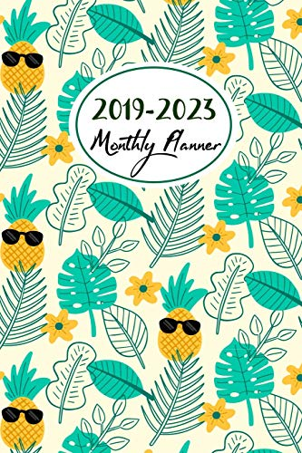 2019-2023 Monthly Planner: Monthly Schedule Organizer, Agenda Planner For The Next Five Years, Appointment Notebook, Monthly Planner, Action Day, Passion Goal Setting (2019-2023 Planner, Band 2)