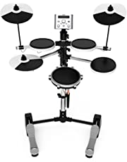LC Prime Electronic Drum Set, Build-in Metronome USB Port for Training, Teaching