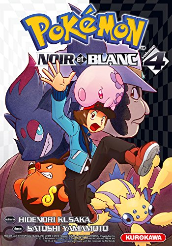 Pokemon Noir Et Blanc Vol 4