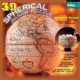 3D Spherical Antique World Globe Jigsaw 530pc