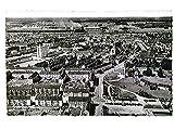 Wolfsburg, Volkswagenstadt, Luftbild, AK, gelaufen 1957