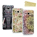[3-Pack]Mavis's Diary Samsung Galaxy J5 Case (2016 Version) - 3 Pcs Ultra Thin Clear Hard PC Case Easy Grip Slim-Fit Painting Design Slip Resistant Bumper Lightweight Case Cover Pack of 3 for Samsung Galaxy J5 (Not for 2015/2017 Model) - Group 10