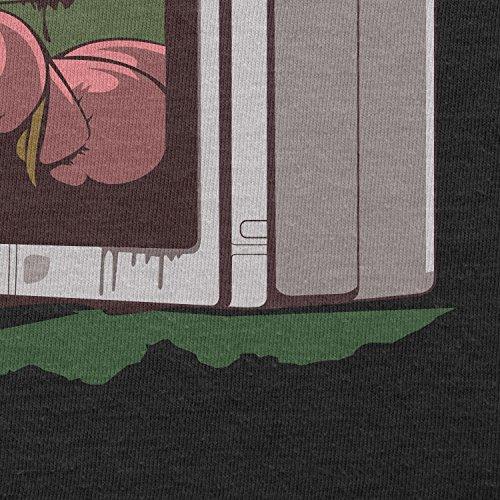 TEXLAB - The Princess - Herren Langarm T-Shirt Schwarz