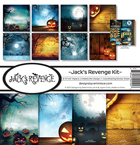 Unbekannt Erinnerung Jack 's Revenge Scrapbook Collection Kit Jack Kit